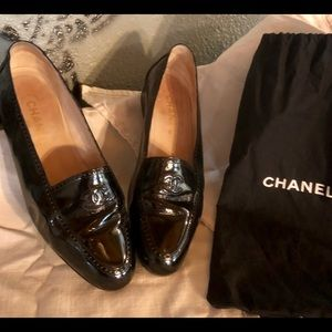 Chanel Patent Loafers - size 40